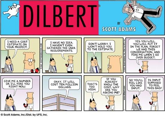 Dilbert-Estimation